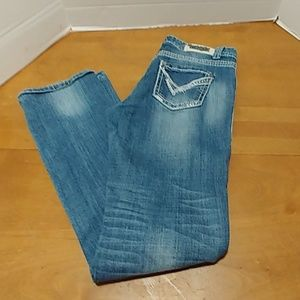 Rock and Roll Cowgirl jeans boyfriend fit 27 x 34